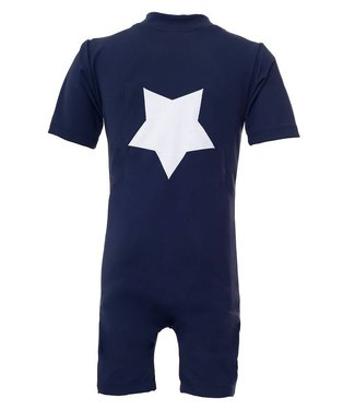 Petit Crabe Swimsuit UV50+ Star Navy