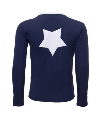 Petit Crabe Swimshirt LS UV50+ Navy Star