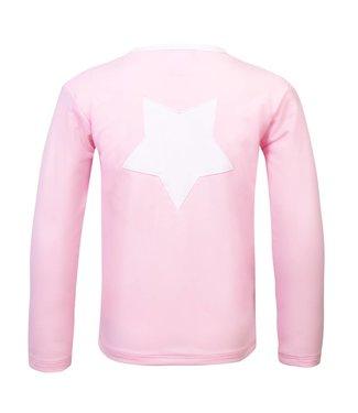 Petit Crabe UV50+ zwemshirt LS Pink Star