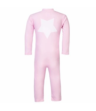 Petit Crabe Swimsuit UV50+ LS Star Pink