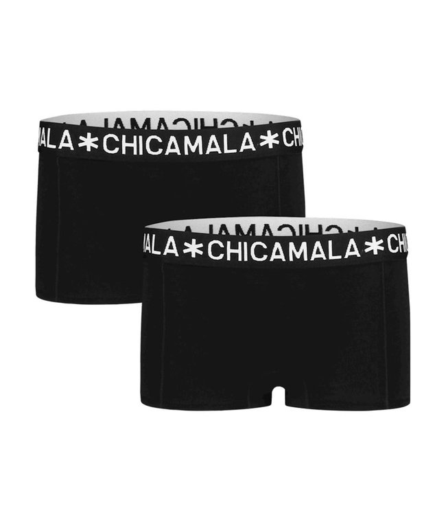 Chicamala Cutbriefs Black , 2er Pack
