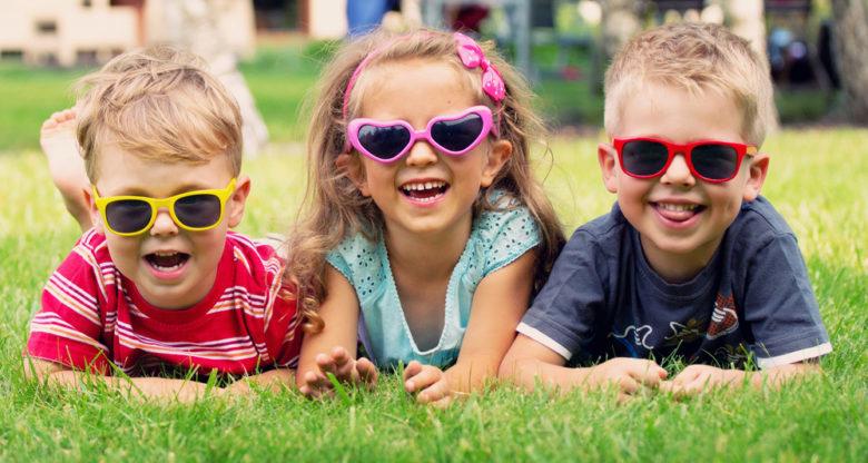 Koop een goed zonnebril voor je baby of kind
