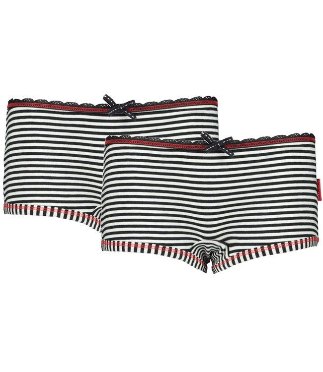 Claesen's Hüftslip Navy Stripes, Doppelpack