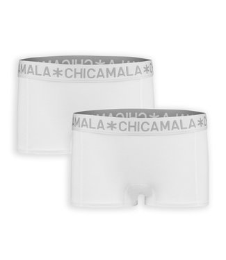 Chicamala Cutbriefs White , 2er Pack