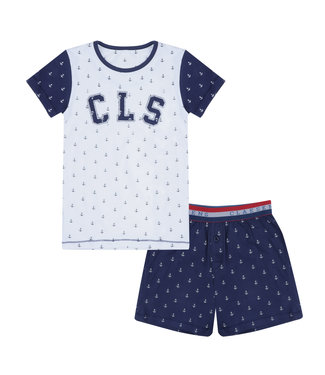 Claesen's Pyjama set Navy Anchor