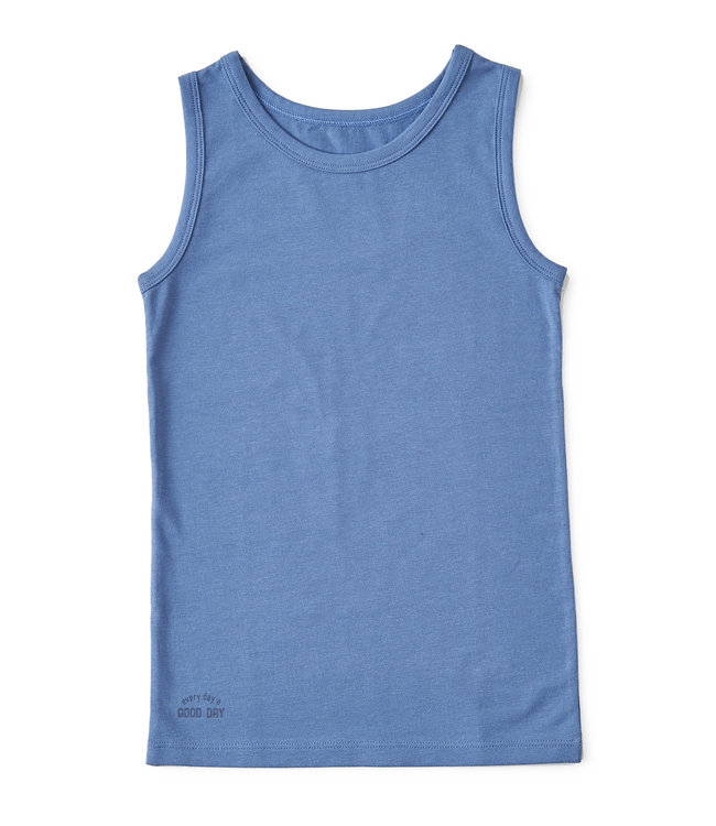 Little Label Sleeveless vest Faded Blue