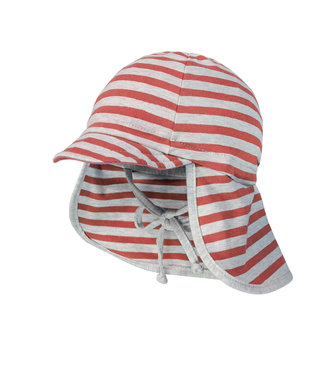 Maximo Sun hat Coral striped