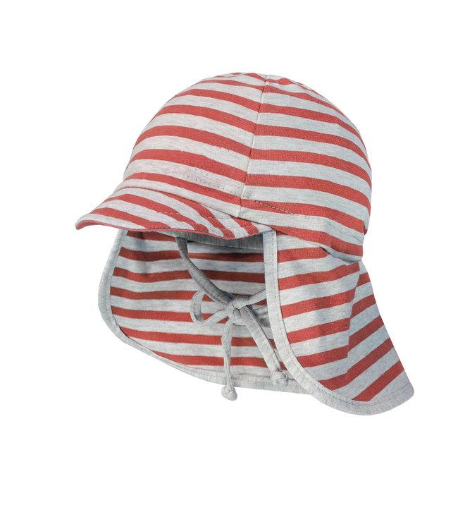Maximo Sun hat Coral striped