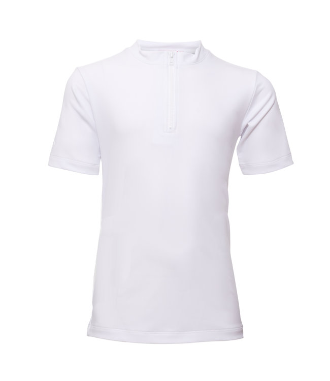 Petit Crabe Swim shirt UV 50+ Max White