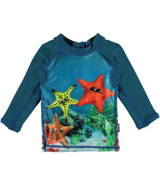 Molo kinderkleding Swim shirt Nemo Moody Stars