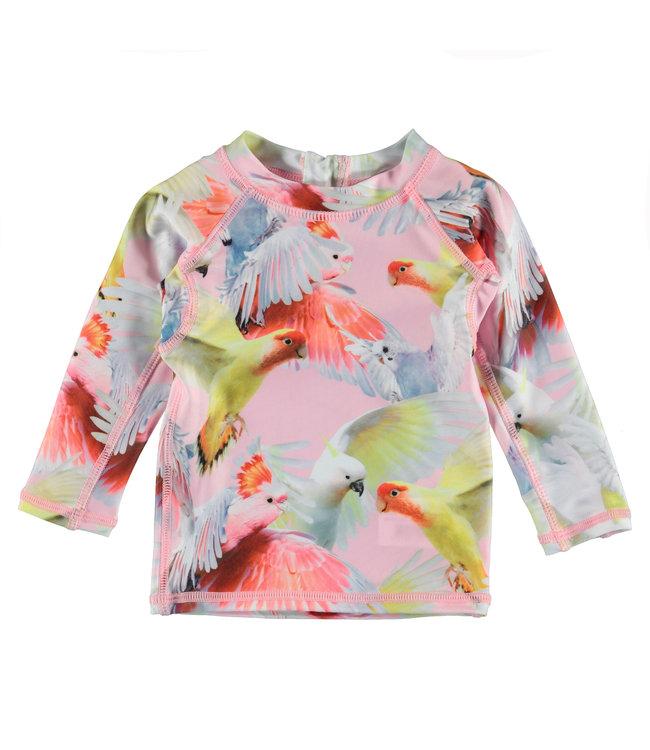 Molo Swim shirt Nemo Cockatoos