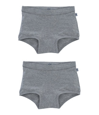 Woody Cut briefs grey 2-pack