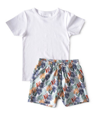 Little Label Pyjama Palm Leaves