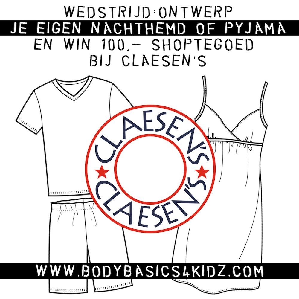 Doe mee aan de Claesen's ontwerpwedstrijd en win €100,= shop tegoed