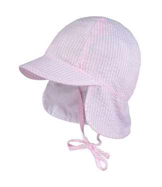 Maximo Sun hat pirnk striped