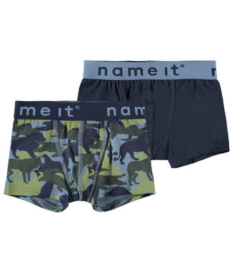 Name it Boxer short China Blue 2-pack