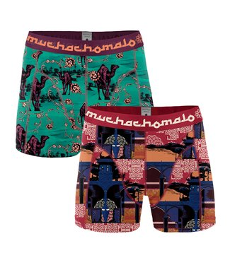 Muchachomalo Boxer trunks Arabic Beauty 2-pack