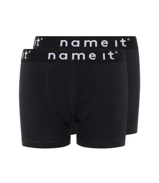 Name it Boxer short Basic Black  2-pack