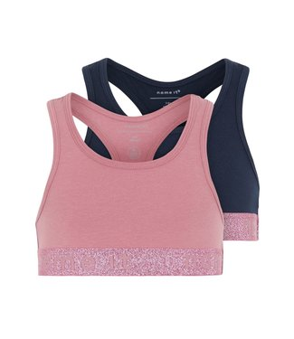 Name it Crop top Heather Rose  2-pack