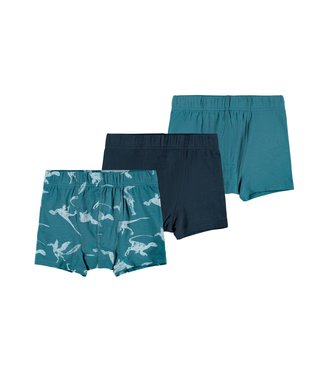 Name it Boxer shorts Dino Teal 3-pack