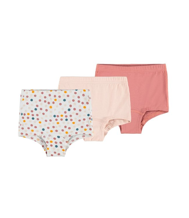 Name it Knicker briefs Whip Dot Peach 3-pack