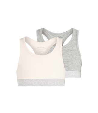 Name it Crop top Pink Lurex 2-pack