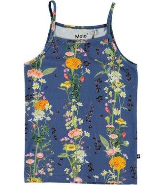 Molo kinderkleding Unterhemd Janice Vertical Flowers