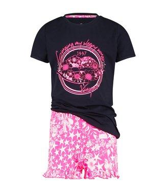 Vingino Schlafanzug kurze Hose Wilder Pink