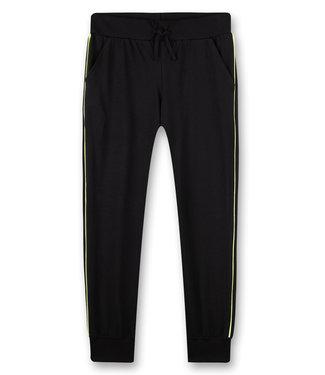 Sanetta Pyjamahose Black