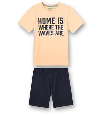 Sanetta Pyjama shortje Neon Melon