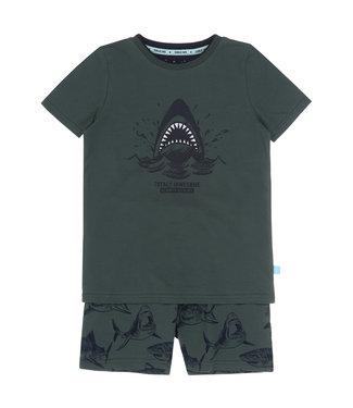Charlie Choe Pyjama shorty Green Shark