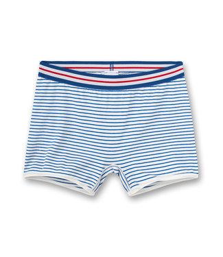Sanetta Shorts White Blue Striped
