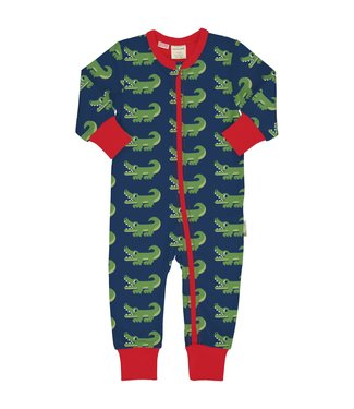 Maxomorra Baby-Jumpsuit Crocodile