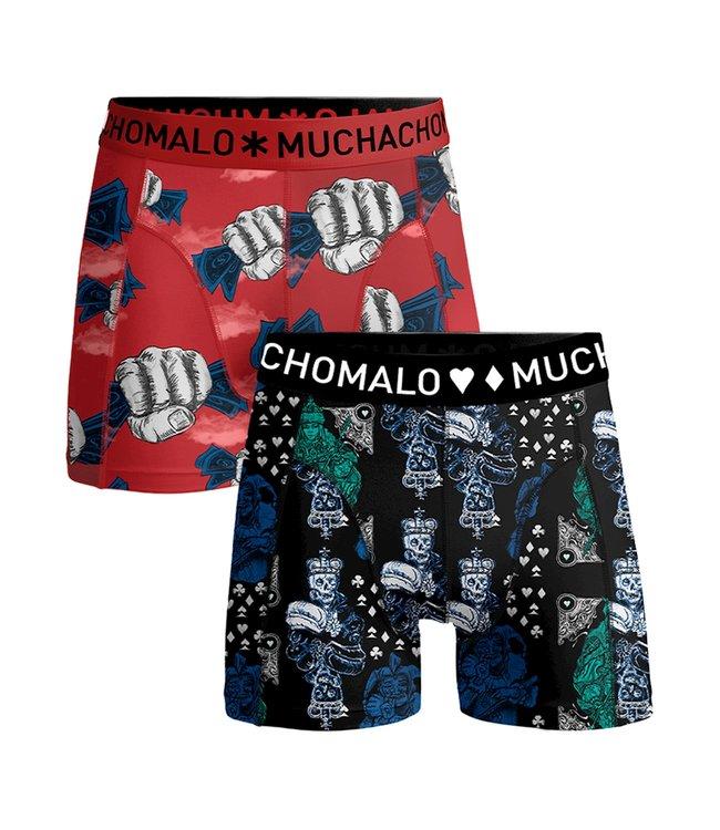 Muchachomalo Boxer trunks Gamble 2-pack
