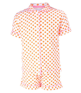 Claesen's Pyjama korte broek Orange Dots