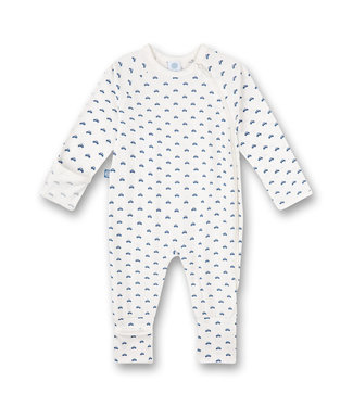 Sanetta Baby playsuit Blue Cars