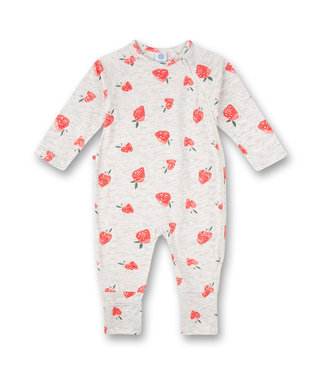 Sanetta Baby-Jumpsuit Strawberry