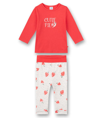 Sanetta Baby pajamas Strawberry