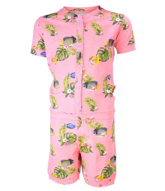 Claesen's One piece pyjama suit Tropical Fish