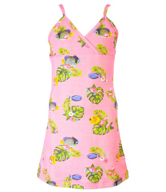 Claesen's Nightdress Pink Tropical Fish
