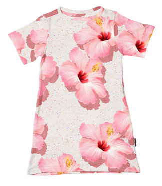 SNURK Dress Pink Hawaii