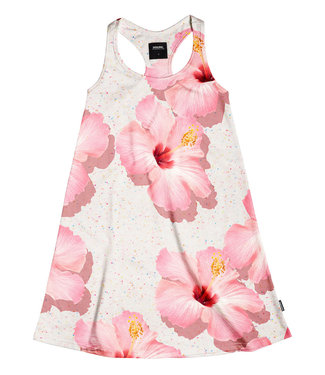 SNURK Tank dress Pink Hawaii
