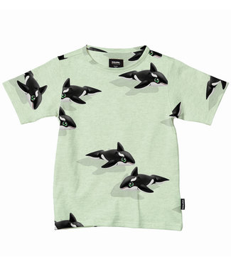 SNURK T-Shirt Orca Green