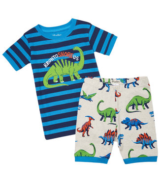 Hatley Schlafanzug Kurze Hose Friendly Dinos
