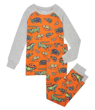 Hatley Schlafanzug Aquatic Reptiles