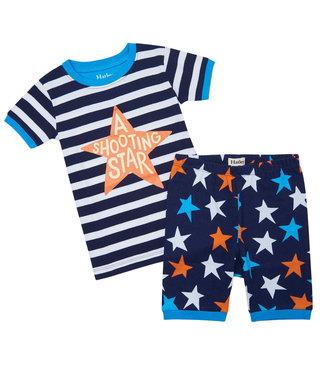 Hatley Pyjama korte broek Shooting Star