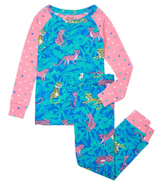 Hatley Schlafanzug Jungle Cats