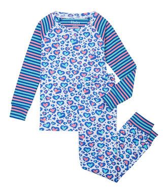 Hatley Pyjama Cheetah Hearts