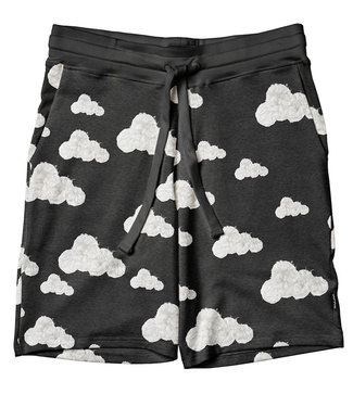 SNURK Shorts heren Cloud 9 Grey Black