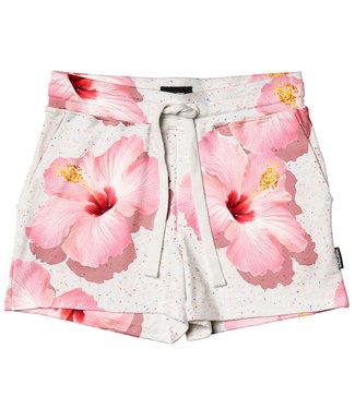 SNURK Kurze Hosen Damen Pink Hawaii